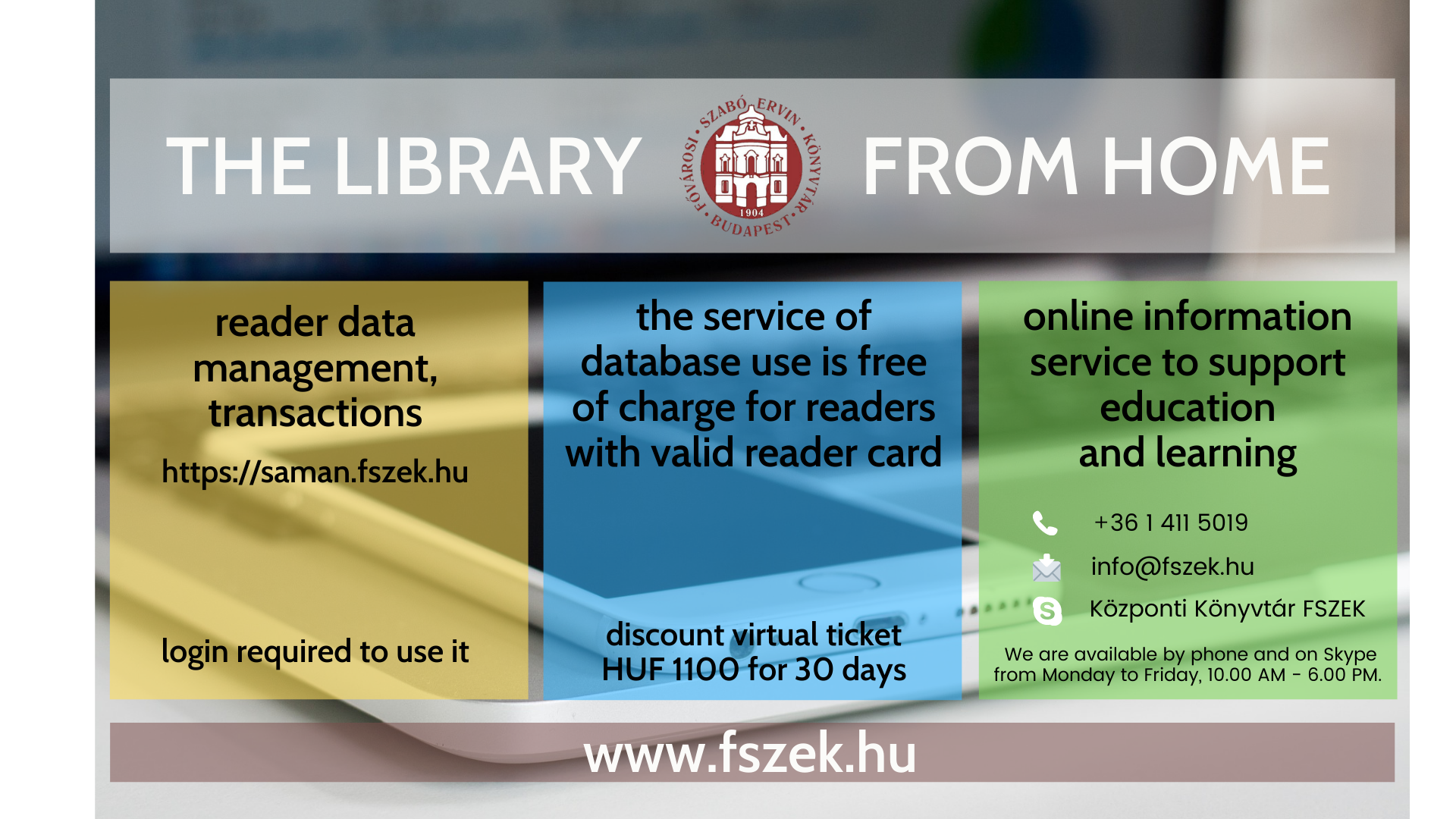 The Library from home service has been expanded