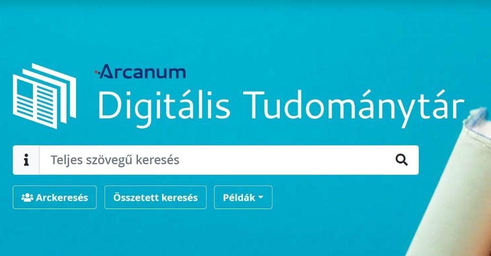 Távoli hozzáférés az Arcanum Digitális Tudománytárhoz! - Cikkünk frissült!