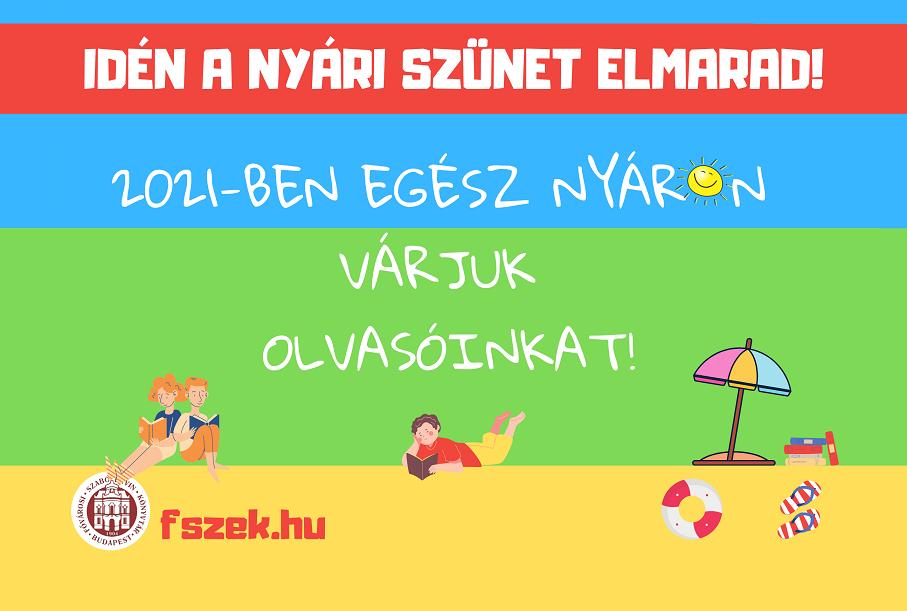 Így készül a nyárra a Fővárosi Szabó Ervin Könyvtár - cikkünk frissült