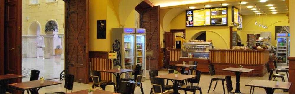 Újra megnyílt a kávézó a Központi Könyvtárban