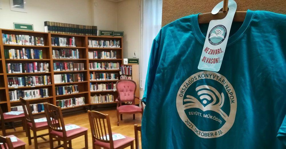 Sikeres Országos Könyvtári Napok a Fővárosi Szabó Ervin Könyvtárban
