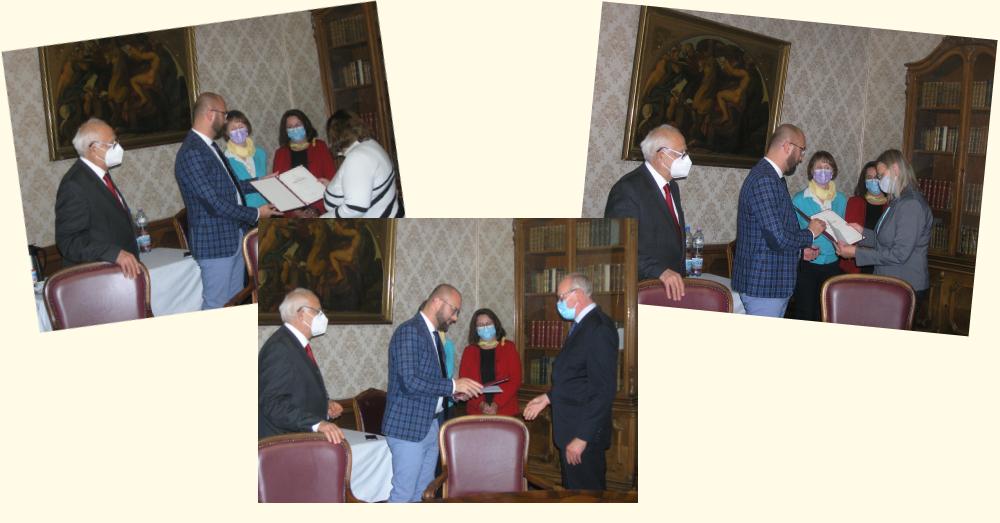 Miniszteri Elismerő Oklevelek átadása